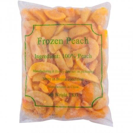 IQF YELLOW PEACH ลูกพีชเหลืองแช่แข็ง 1 Kg.