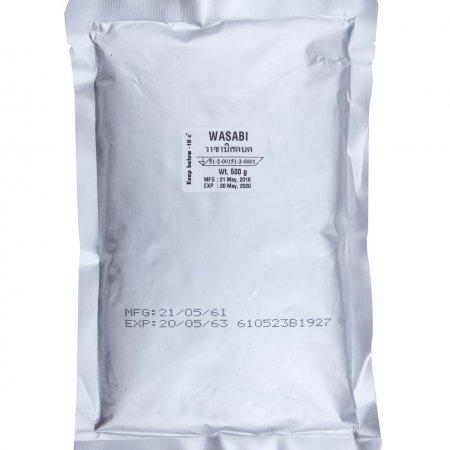 FROZEN FRESH WASABI PASTE วาซาบิสดแช่แข็ง 500 G.
