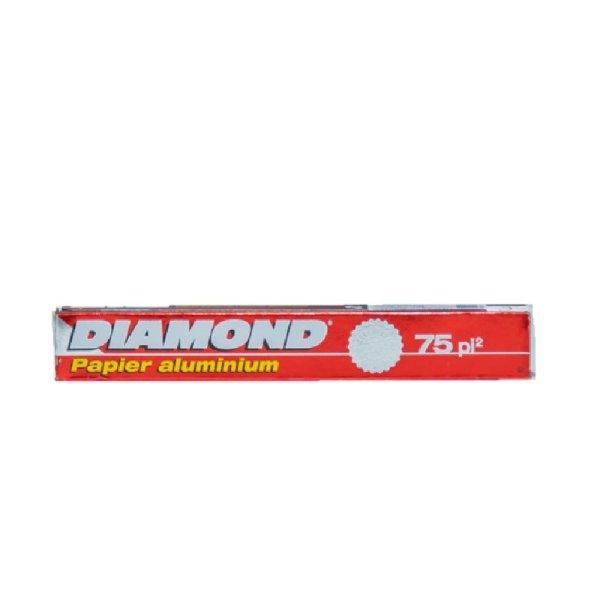 "DIAMOND ALUMINIUM FOIL 12"" 75 FT ไดมอนด์อลูมิเนียมฟอยด์ 12 นิ้ว 75 ฟุต"