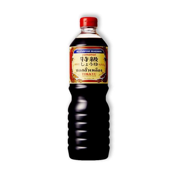 TOKKYU JAPANESE SOY SAUCE 1 L ซอสถั่วเหลืองญี่ปุ่น ท็อคคิว 1ล.