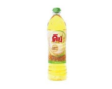 King Rice Bran Oil Oryzanol 2,500 ppm. 1 Liter คิง น้ำมันรำข้าว 1 ลิตร