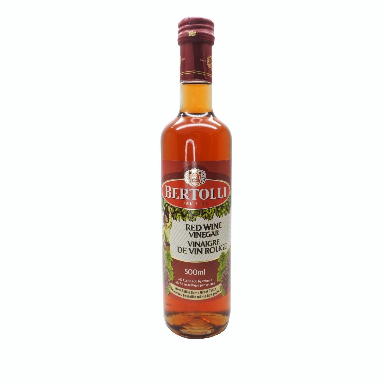 BERTOLLI RED WINE VINEGAR น้ำส้มสายชูจากไวน์แดง 500 G.