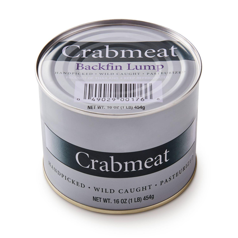 STONE HARBOR CRAB BACKFIN MEAT อกปูเนื้อล้วน 454 G.
