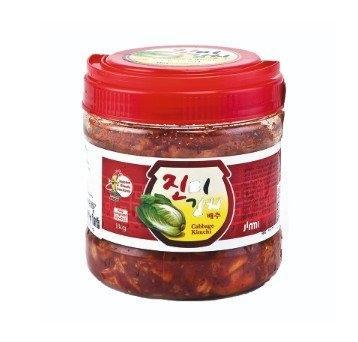 Cabbage Kimchi 1kg จินมี่ กิมจิผักกาดขาว 1000 กรัม