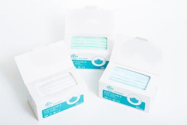 หน้ากากอนามัย 3 ชั้น อุ่นใจ หน้ากากอนามัย 50 ชิ้น ป้องกัน 95%