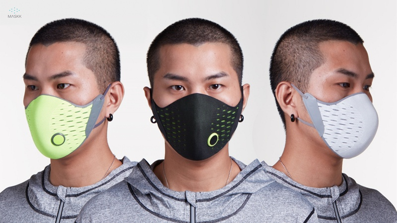 1 กล่อง XIAOMI AirPOP Active Outdoor Mask (Anti-Fog Haze)