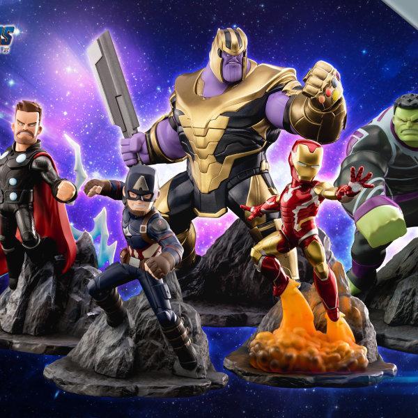"Marvel's Avengers : Endgame Premium PVC ""Iron Man"" Figure ส่งฟรีทั่วประเทศ"