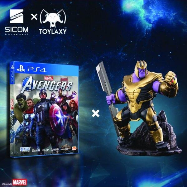 Marvel's Avengers [Standard Edition] x Toylaxy's Marvel Avengers Endgame Figure