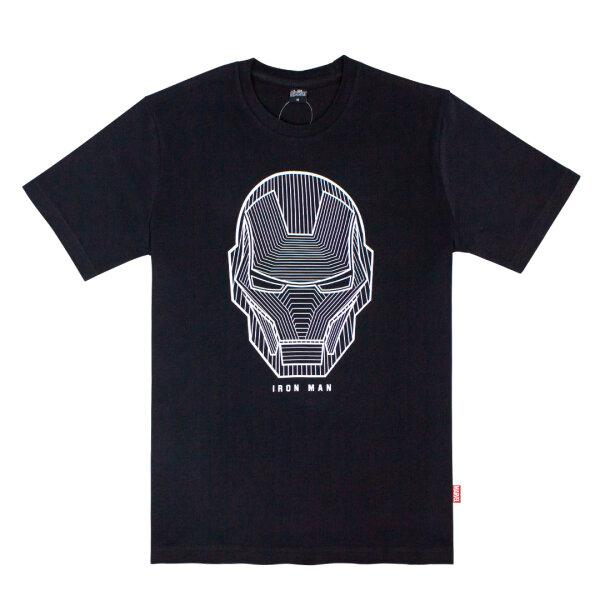 The Avengers Ironman UV Print Graphic T-shirt