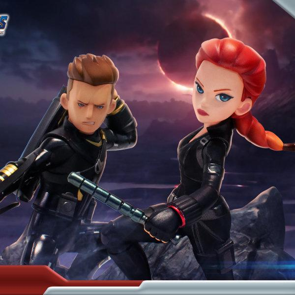 "Marvel's Avengers : Endgame Premium PVC ""Black Widow"" Figure ส่งฟรีทั่วประเทศ"