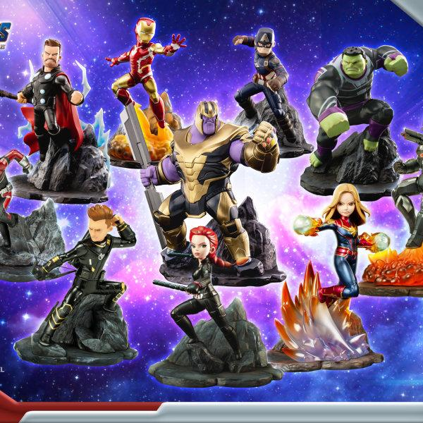 "Marvel's Avengers : Endgame Premium PVC ""Captain Marvel"" Figure ส่งฟรีทั่วประเทศ"