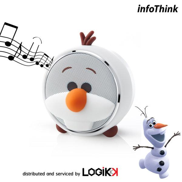 FROZEN, INFOTHINK, Bluethooth Speaker, Olaf, Tsum Tsum