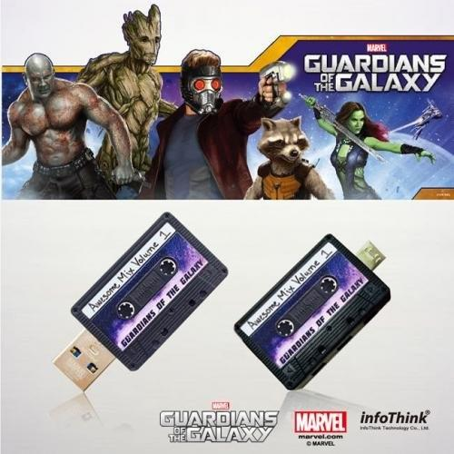 MARVEL, INFOTHINK, USB Flash Drive, Guardian of the Galaxy, Walkman