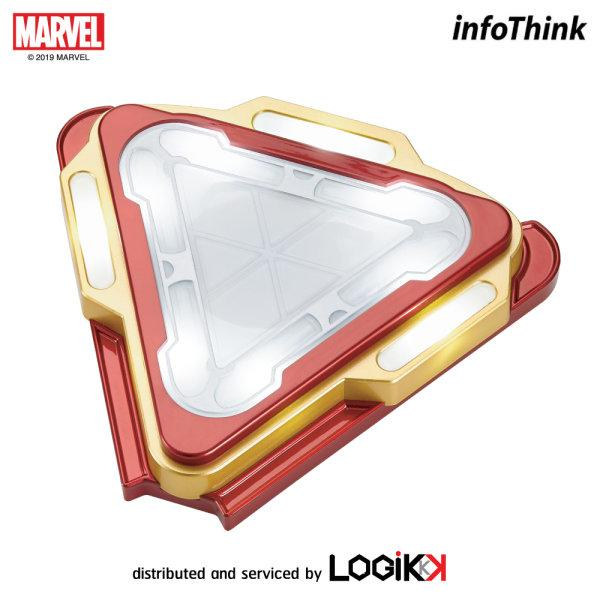 MARVEL, INFOTHINK, Wireless Charging Pad, Arc, Iron Man