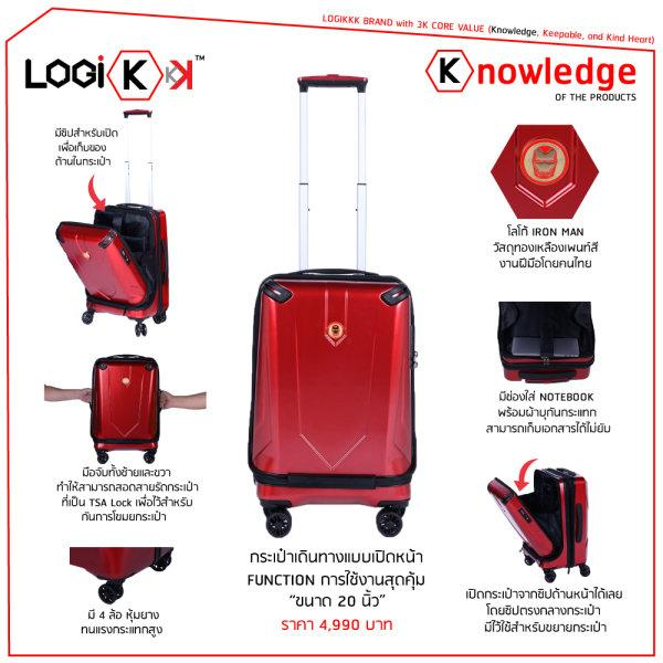 Iron Man Avengers Endgame Suitcase by Logikkk ลด10%