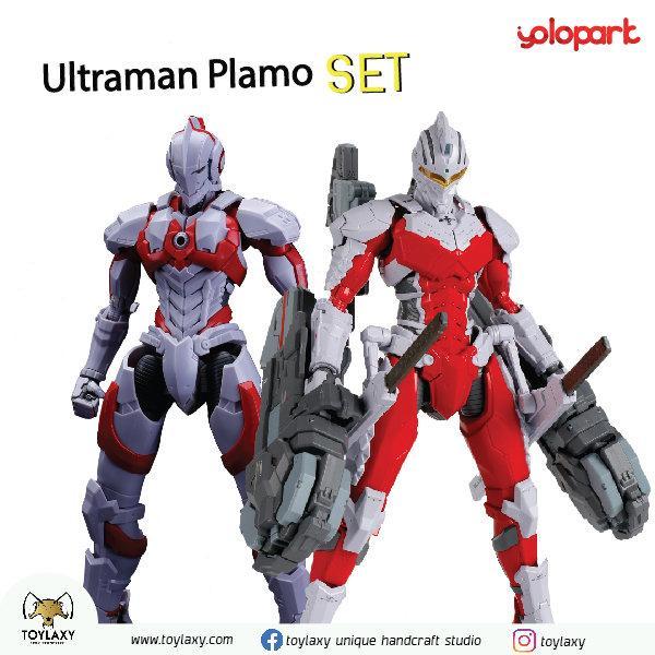 Ultraman Manga (Unpainted PLAMO) & Pre-Order Ultraman Ver7.3 (Unpainted PLAMO)
