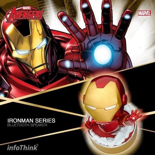 MARVEL, INFOTHINK, Bluetooth Speaker, Iron Man, Flying