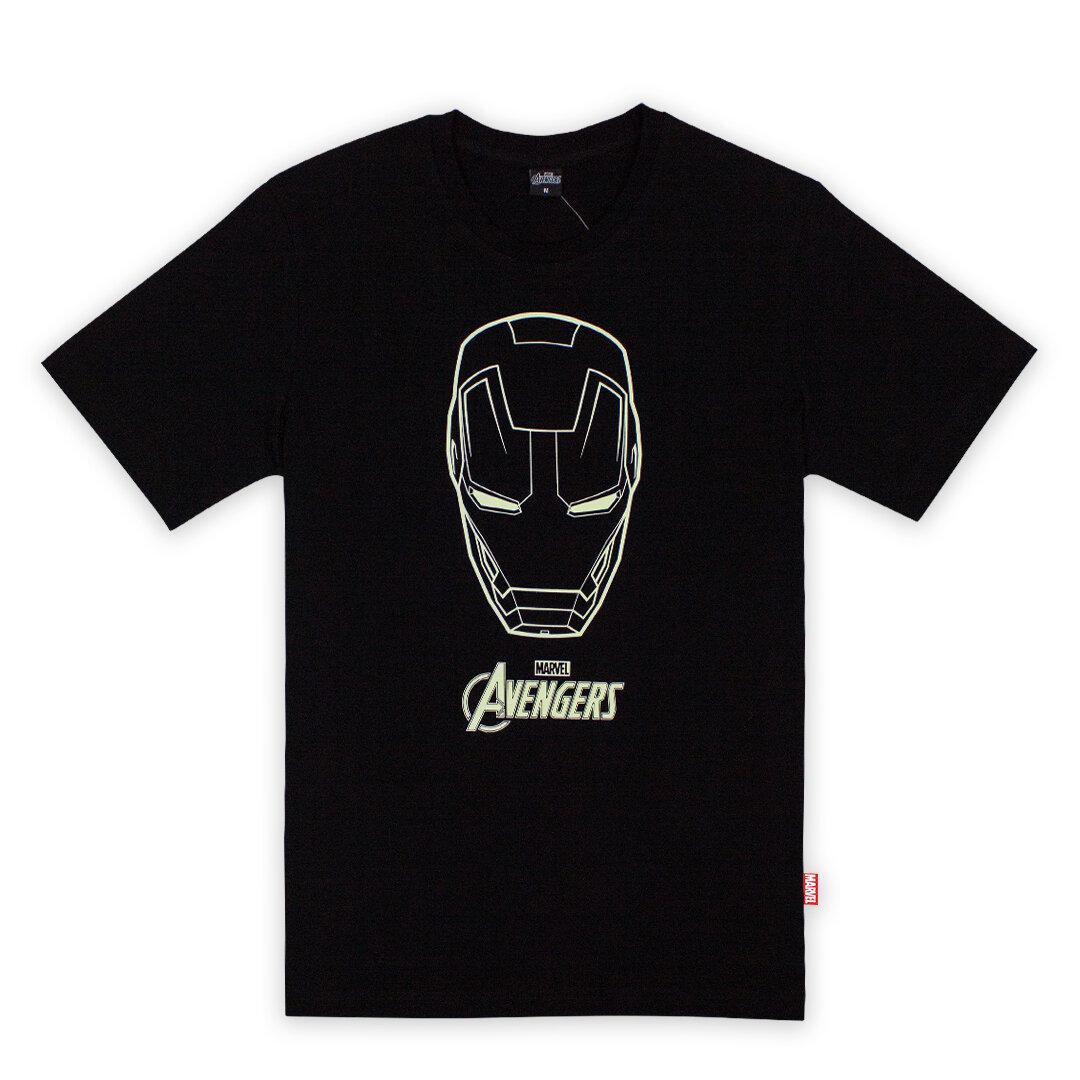 The Avengers Ironman Glow in The Dark T-shirt