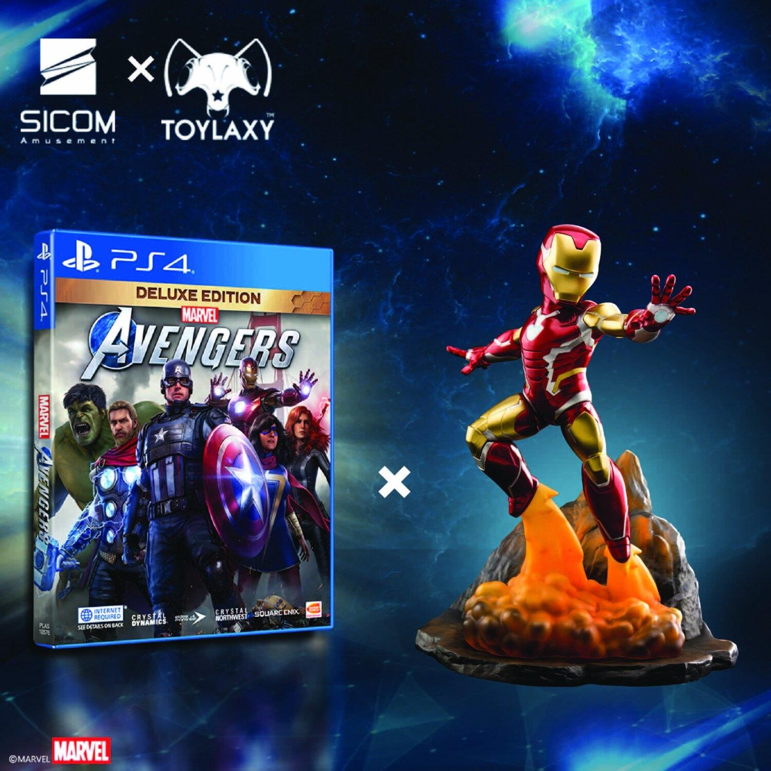 Marvel's Avengers [Deluxe Edition] x Toylaxy's Marvel Avengers Endgame Figure