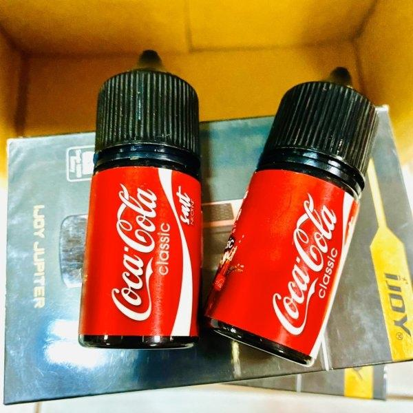 [น้ำยา] Coca Cola classic Salt Nic 30ml Nic35 [เย็น]