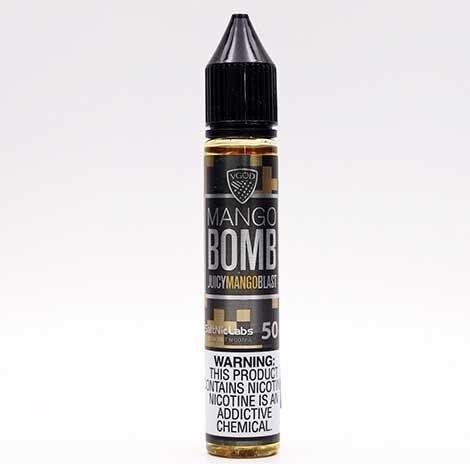 น้ำยา POD Salt Nic USA] VGOD Mango Bomb 30ml นิค50 ไม่เย็น