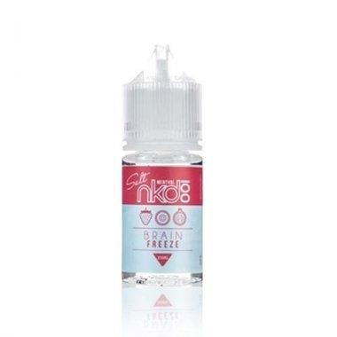 [น้ำยา POD Salt Nic USA] NKD100 Brain Freeze 30ml นิค50