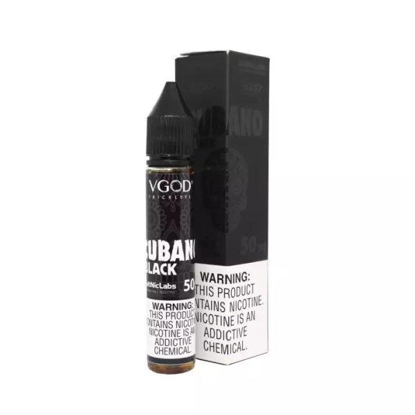 [น้ำยา POD Salt Nic USA] VGOD Cubano Black 30ml นิค50 (ไม่เย็น)