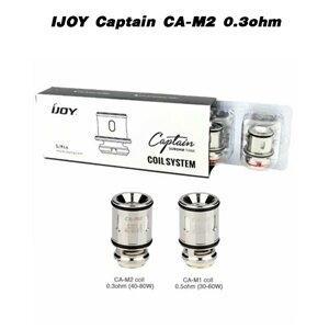 F [คอยล์] IJOY Captain CA-M2 0.3ohm[1ชิ้น]