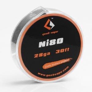 F ลวดม้วน Geekvape Ni80 Wire 28ga 0.3mm 30ft แท้