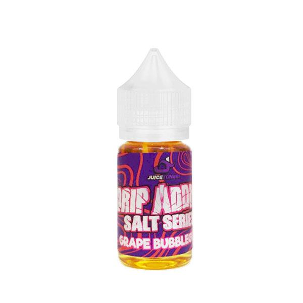 [น้ำยาPOD] DRIP ADDICT GRAPE Bubblegum SALT NIC 30ml NIC30
