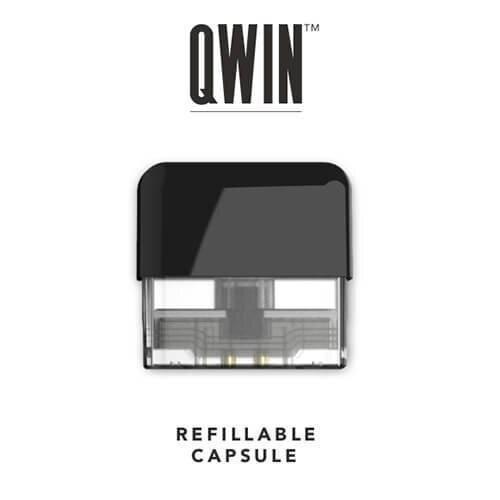 V [พอดเปล่าแท้งเปล่า] QWIN Refill 1 ชิ้น