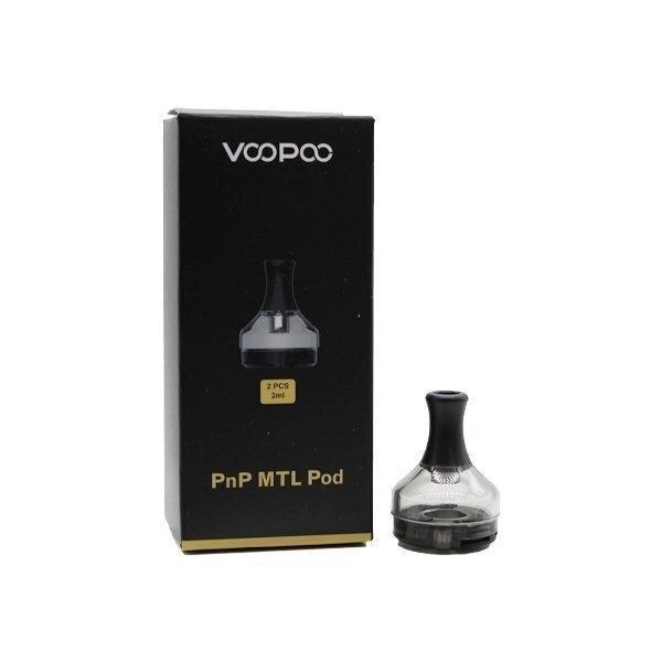 F PODเปล่า VOOPOO V.SUIT PnP MTL Pod 2ml Cartridge 1/ชิ้น