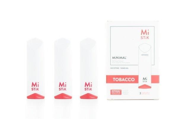 บุหรี่ไฟฟ้า Mi Stik Disposable Pod Kit : Tobacco [แท้] ใช้หมดแล้วทิ้ง