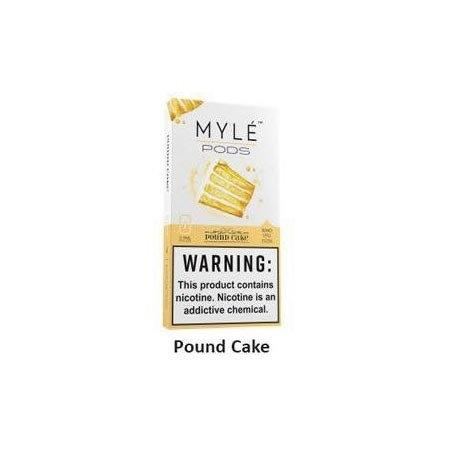 Myle Pods Pound Cake 50mg /1ชิ้น