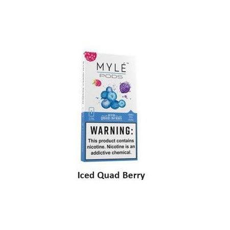 Myle Pods Iced Quad Berry 50mg /1ชิ้น