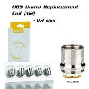 F [คอยล์] OBS Damo Replacement Coil (M2 0.4 ohm) [1ชิ้น]