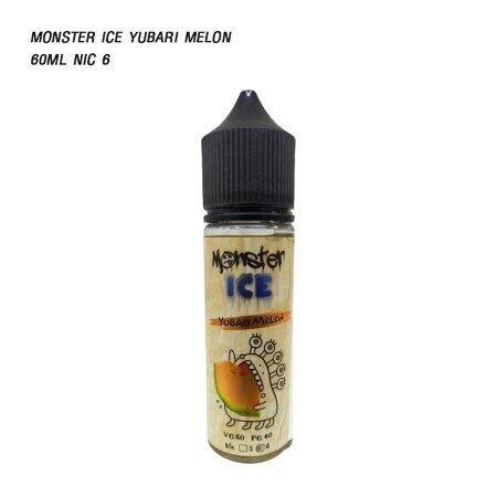 F น้ำยาบุหรี่ไฟฟ้า  Monster Ice Yubari Melon 60ml nic 6 [เย็น]