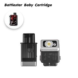 F [PODเปล่า] Smoant Battlestar Baby Cartridge พร้อมคอยล์2ตัว  [1ชิ้น]