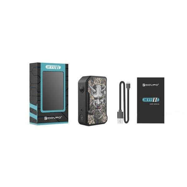 กล่องบุหรี่ไฟฟ้า Dovpo M VV II 280W Box Mod ( แท้ )