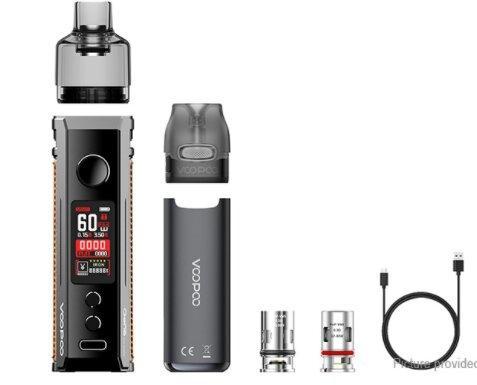 F VOOPOO DRAG S+VMATE Pod Kit (Galaxy Blue+SpaceGray) [แท้] [บุหรี่ไฟฟ้าพอด แบตในตัว]