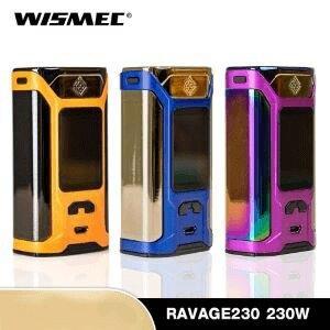 F กล่อง WISMEC RAVAGE230 230W Box Mod [แท้]