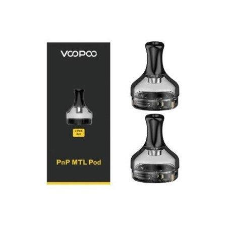 F Voopoo PnP MTL Pod 2ml Cartridge [1กล่อง2ชิ้น] สำหรับ V.SUIT KIT/DRAG X KIT/DRAG S/Drag MAX/2 platinum/Argus Pro/V.SUIT