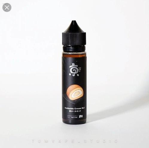 น้ำยามาเล hokkaido cream roll Nic3 ไม่เย็น