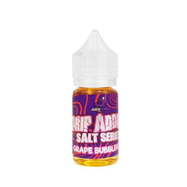[น้ำยาPOD] DRIP ADDICT GRAPE Bubblegum SALT NIC 30ml NIC30