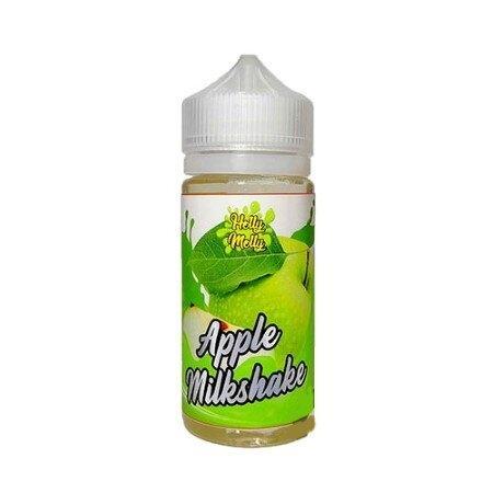 F น้ำยาบุหรี่ไฟฟ้า Holly Molly fruity Apple Milkshake 100ml nic6 เย็น