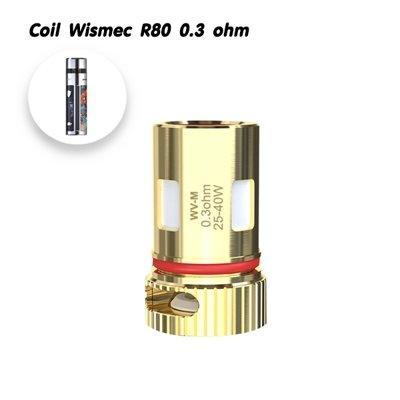WV-M 0.3ohm Coil For Wismec R80 /1ชิ้น