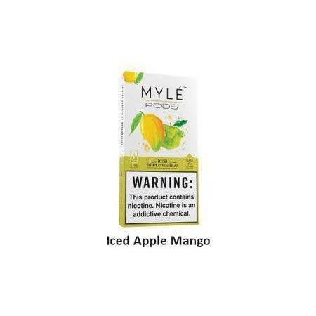 Myle Pods Iced Apple Mango 50mg /1ชิ้น
