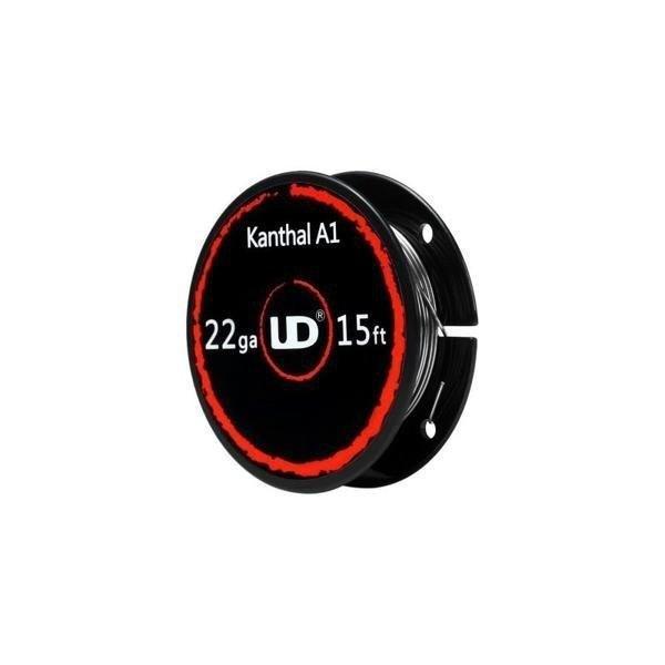 ลวด UD Kanthal A1 22GA (0.6mm) 15Ft 5m/ม้วน