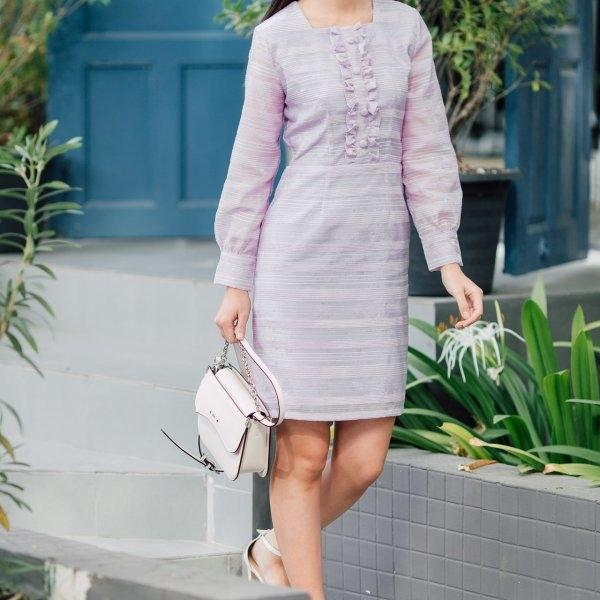 Merry Long Sleeve Dress