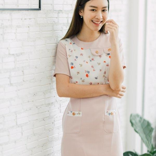 Irin Mini Pocket Dress